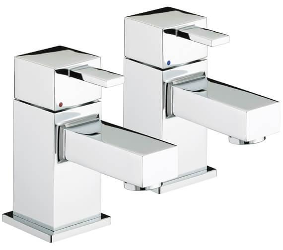 Bristan Quadrato Deck Mounted Bath Taps