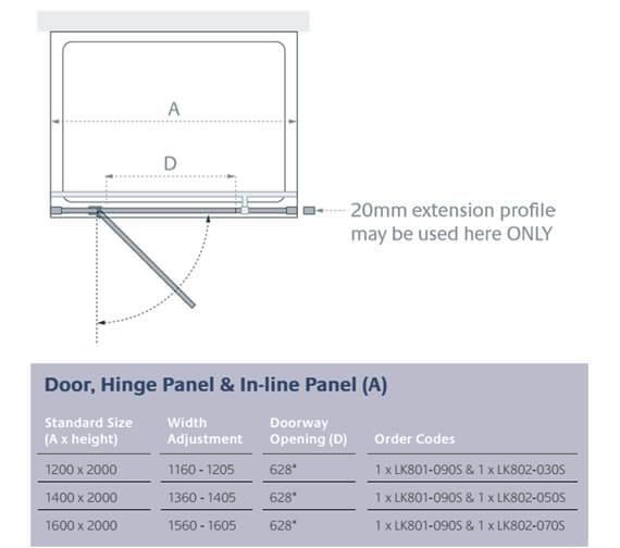 Technical drawing QS-V13918 / LK801-090S