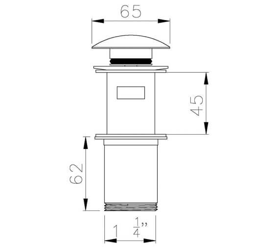 Technical drawing QS-V39449 / AB2701