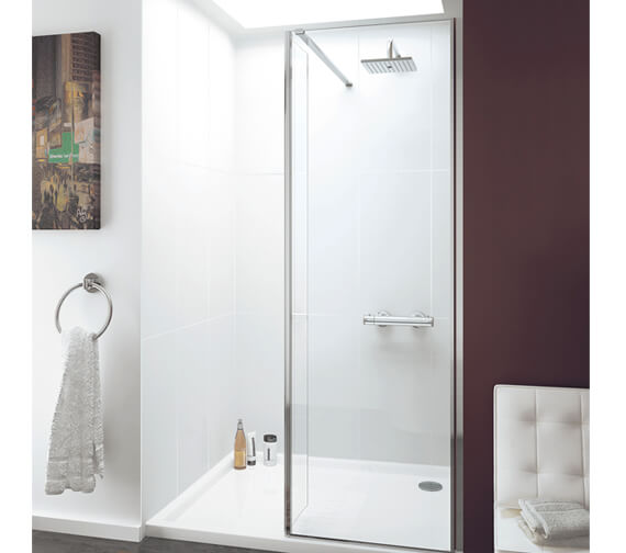 Lakes Coastline Levanzo Walk-In Shower Screen With Bypass Panel