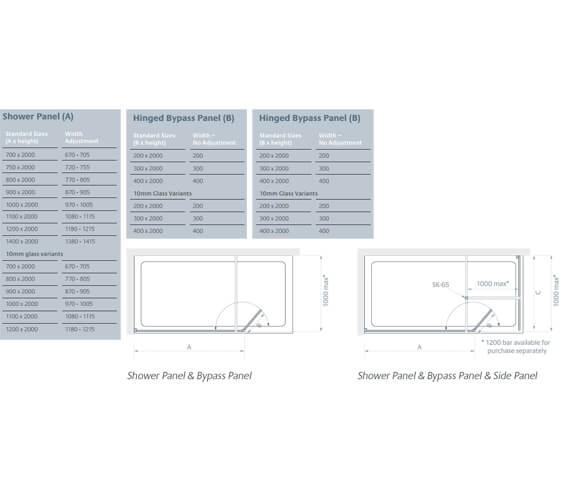 Technical drawing QS-V99446 / LK810-070S