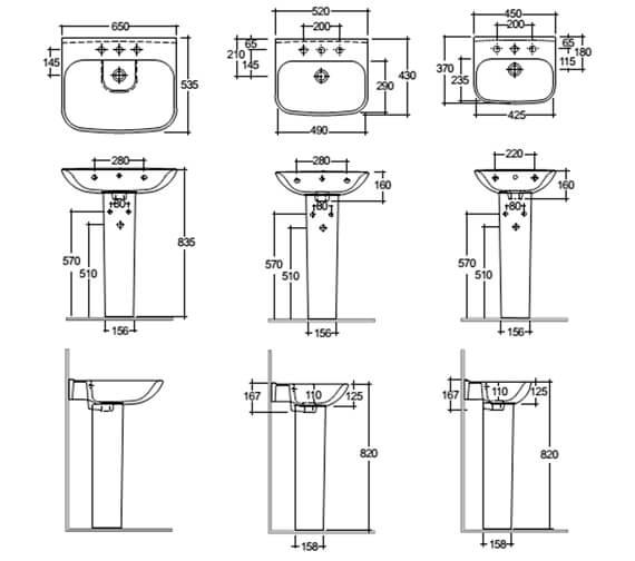 Technical drawing QS-V103014 / ORI6245BAS1