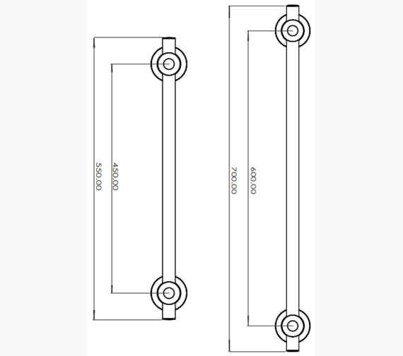 Technical drawing QS-V100349 / TGRCARE450CHR