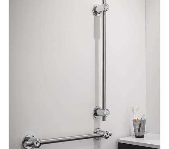 Additional image of Triton Inclusive Chrome Strong Straight Grab Bar