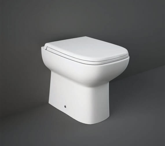 RAK Origin Back To Wall WC Pan With Soft Close Seat - 500mm Projection