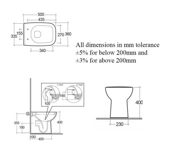 Technical drawing QS-V103015 / ORG17AWHA/SC