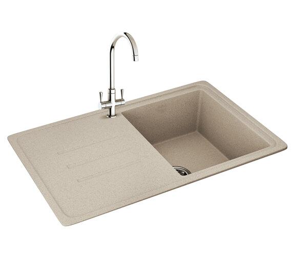 Carron Phoenix Debut 1.0 Bowl Inset Kitchen Sink