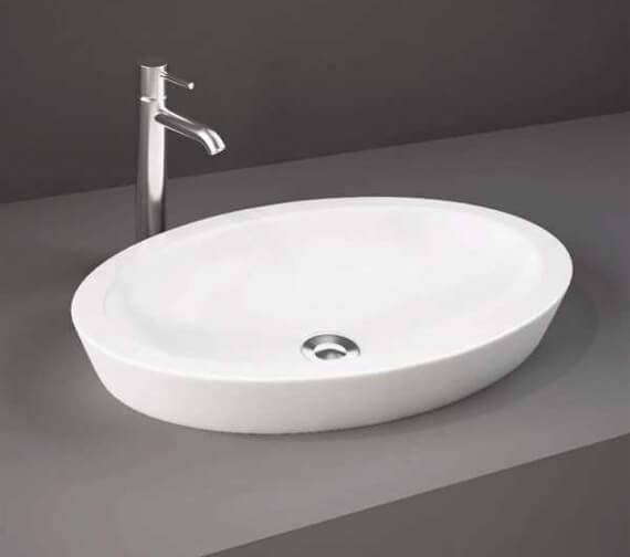 Rak Resort 58cm Oval Counter Top Basin