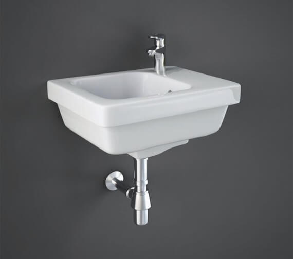 RAK Resort Wall Hung Basin With 1 Right Hand Tap Hole