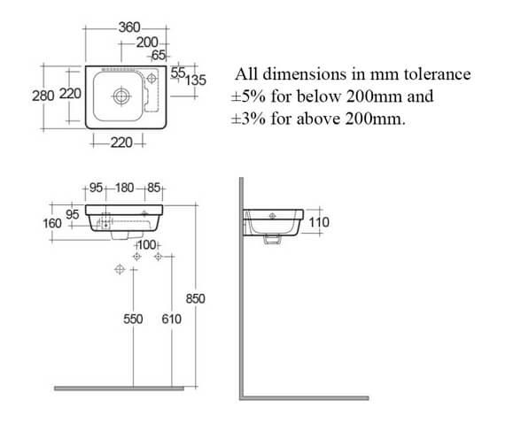 Technical drawing QS-V99730 / RST36SL1RH