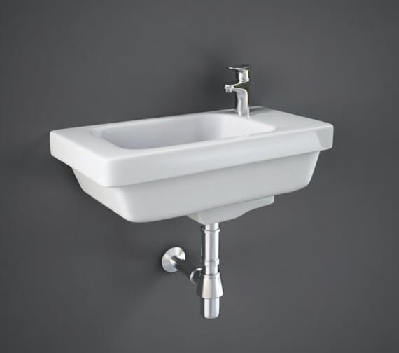 Additional image of RAK Resort Wall Hung Basin With 1 Right Hand Tap Hole
