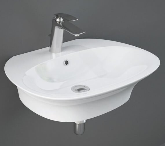Additional image of RAK Sensation Wall Hung Basin With 1 Tap Hole