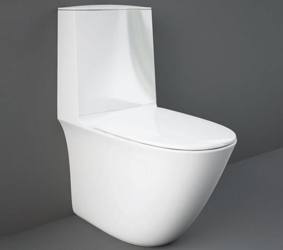 RAK Sensation Close Coupled Fully Back-To-Wall Rimless Toilet
