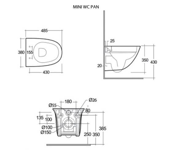 Technical drawing QS-V103031 / SENWHPANSC-MI