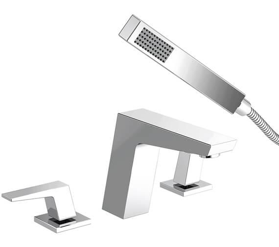 Bristan Sail 4 Hole Deck Mounted Bath Shower Mixer Tap