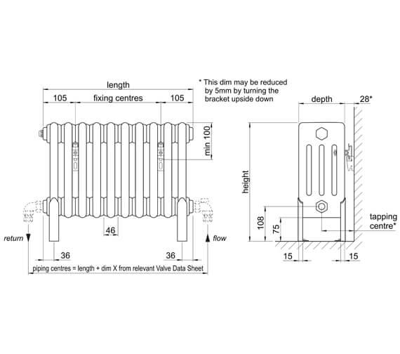Technical drawing QS-V102757 / 4F30469010
