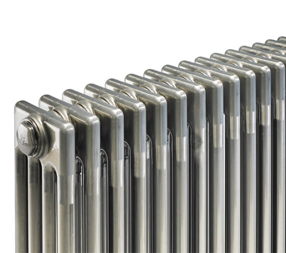 Additional image of Bisque Classic Floor Standing 4 - 6 Column Radiator With Feet