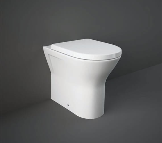 Additional image of RAK Resort 425mm Comfort Height Back To Wall Rimless WC With Soft Close Seat