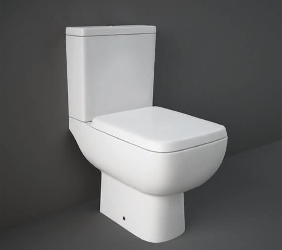 RAK Ceramics Series 600 Full Access WC Pack With Urea Soft Close Seat