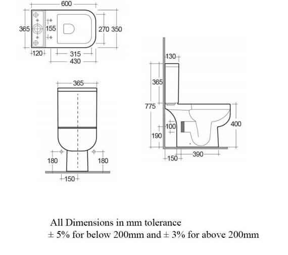 Technical drawing QS-V36223 / S600PAKNS014