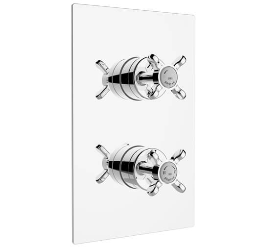Additional image of Bristan 1901 Recessed Thermostatic Dual Control Shower Valve