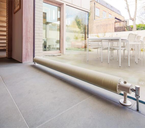 Bisque Flow Form Radiator