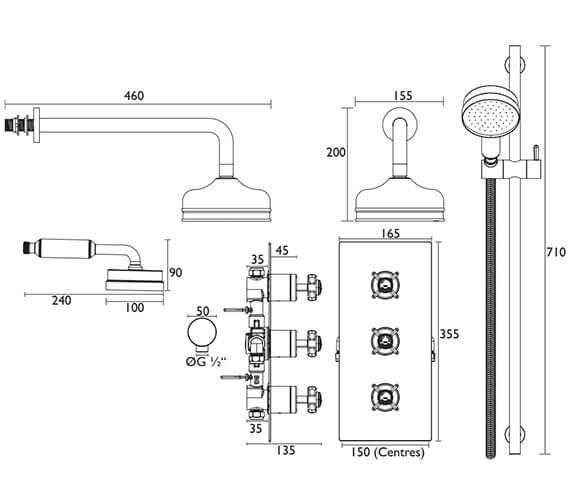Technical drawing QS-V20942 / SDCDUAL03