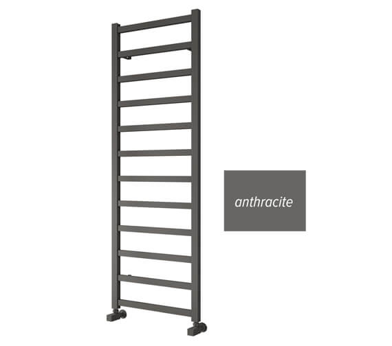 Reina Fano 485mm Wide Aluminium Straight Towel Rail
