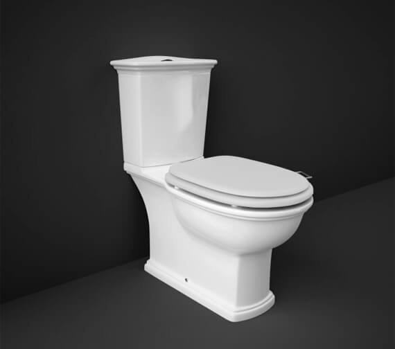 RAK Washington Full Access WC Pack With Push Button Cistern And White Soft Close Seat
