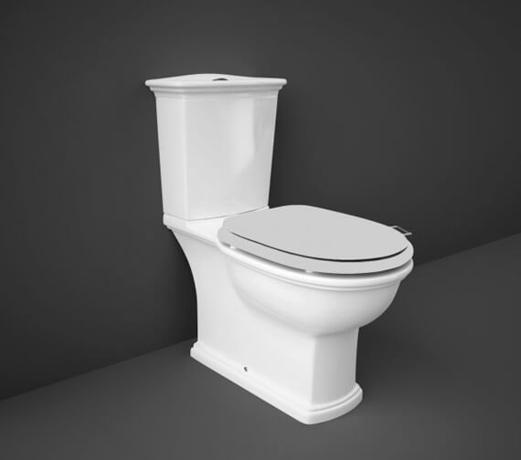 Additional image of RAK Washington Full Access WC Pack With Push Button Cistern And White Soft Close Seat