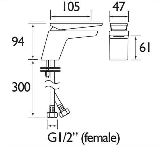 Technical drawing QS-V88332 / SAI BAS C