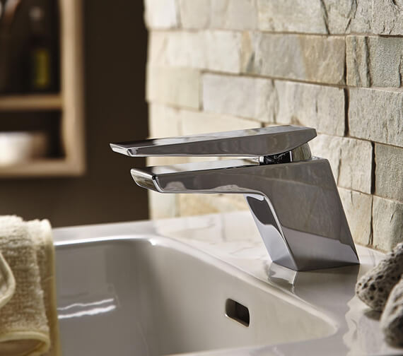 Alternate image of Bristan Sail Basin Mixer Tap With Clicker Waste