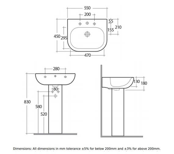 Technical drawing QS-V76298 / TON45BAS1