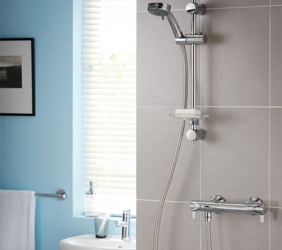 Triton Dene Lever Eco Bar Shower Mixer With 3 Spray Pattern