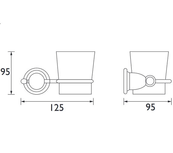 Technical drawing QS-V80618 / N2 HOLD C