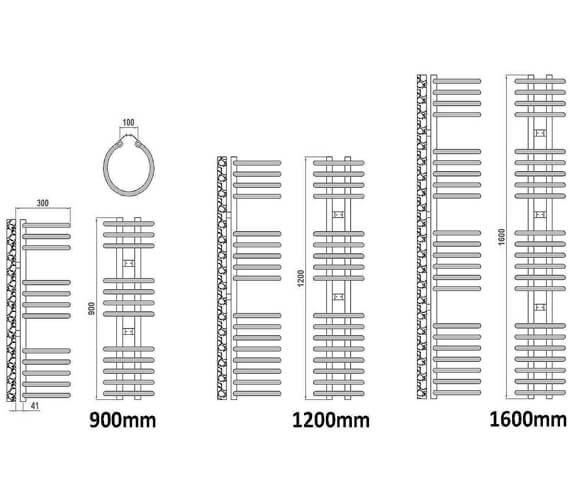 Technical drawing QS-V20715 / RND-CLR3090