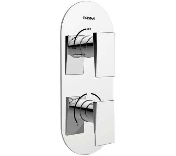 Bristan Sail Thermostatic Dual Control Shower Valve