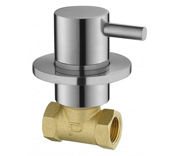 Additional image of Flova Levo Wall Mounted Stop Cock For Hot Water