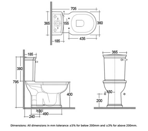 Technical drawing QS-V103050 / WASPAKL500