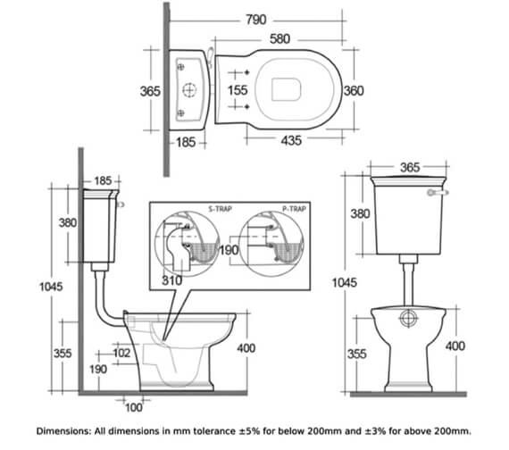 Technical drawing QS-V103049 / WASPAKLL500