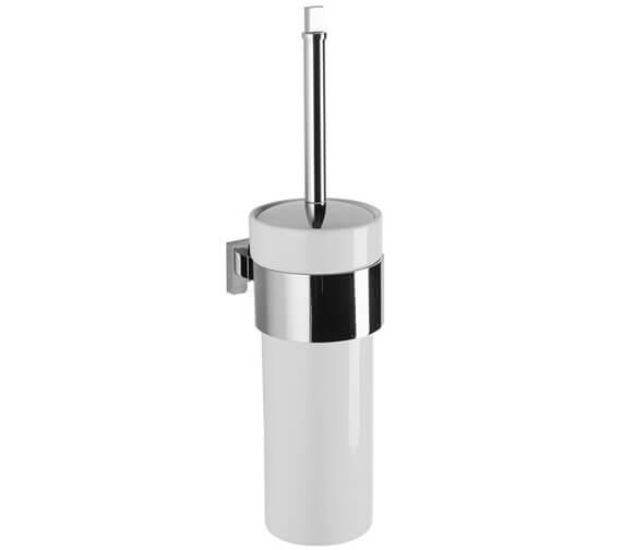 Crosswater Zeya Ceramic WC Brush Holder - ZE025C+