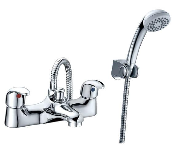 RAK Basic Bath Shower Mixer Tap Deck Mounted