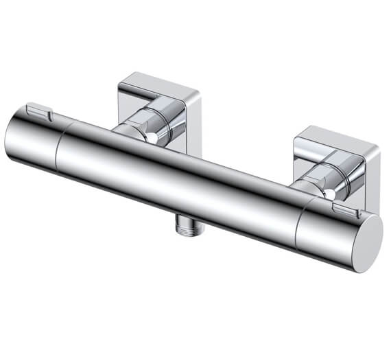RAK Blade Wall Mounted Thermostatic Bar Shower Valve