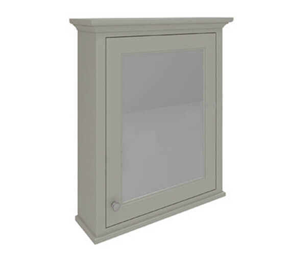 Additional image of RAK Washington Mirrored Bathroom Cabinet 650mm W x 752mm H