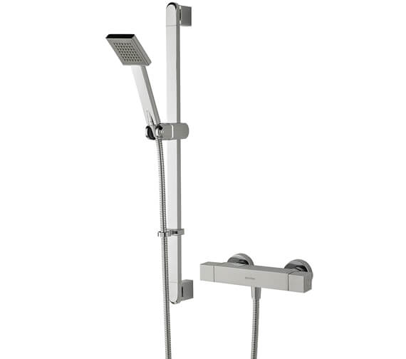 Bristan Quadrato Thermostatic Surface Mounted Bar Shower Valve