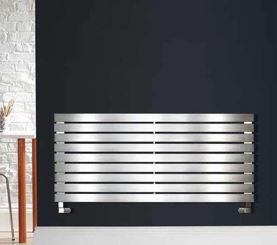 Zehnder Bay Stainless Steel Brushed Radiator