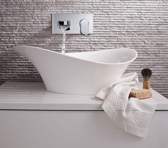 Bauhaus Alice 560 x 327mm Countertop Basin