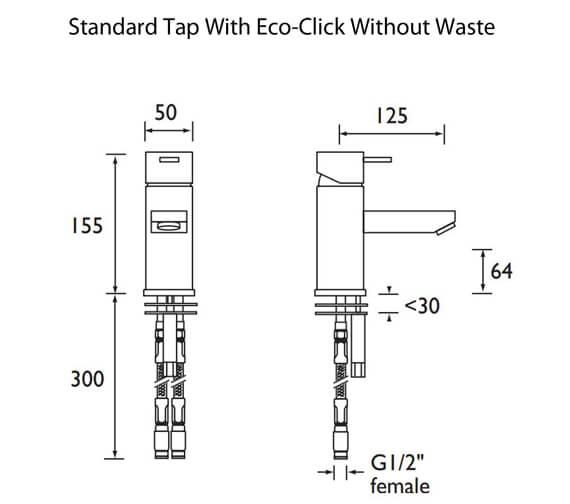 Technical drawing QS-V41608 / QD EBASNW C