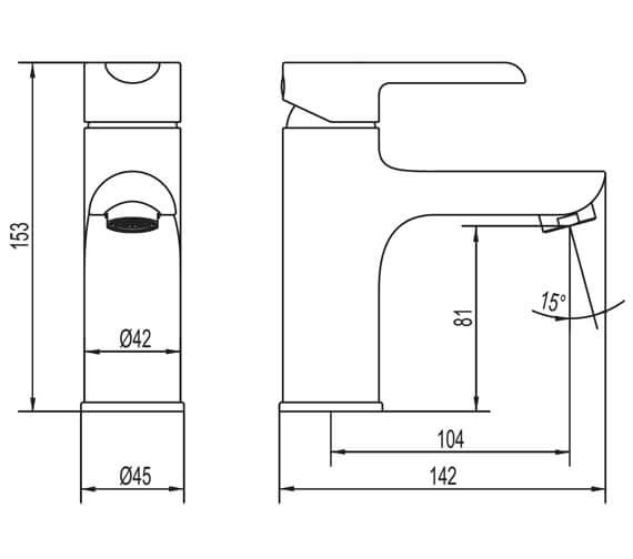 Technical drawing QS-V88067 / KEBCPUK