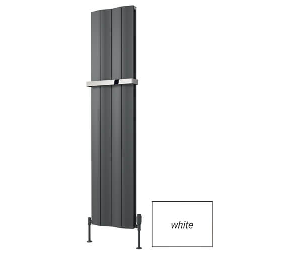 Reina Wave 1800mm High Double Vertical Aluminium Radiator